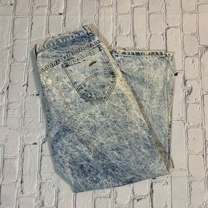 Vintage High Waisted Mom Stonewashed Jeans Chic